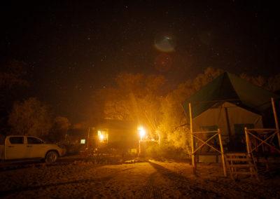 Nachtlager am Spitzkoppe